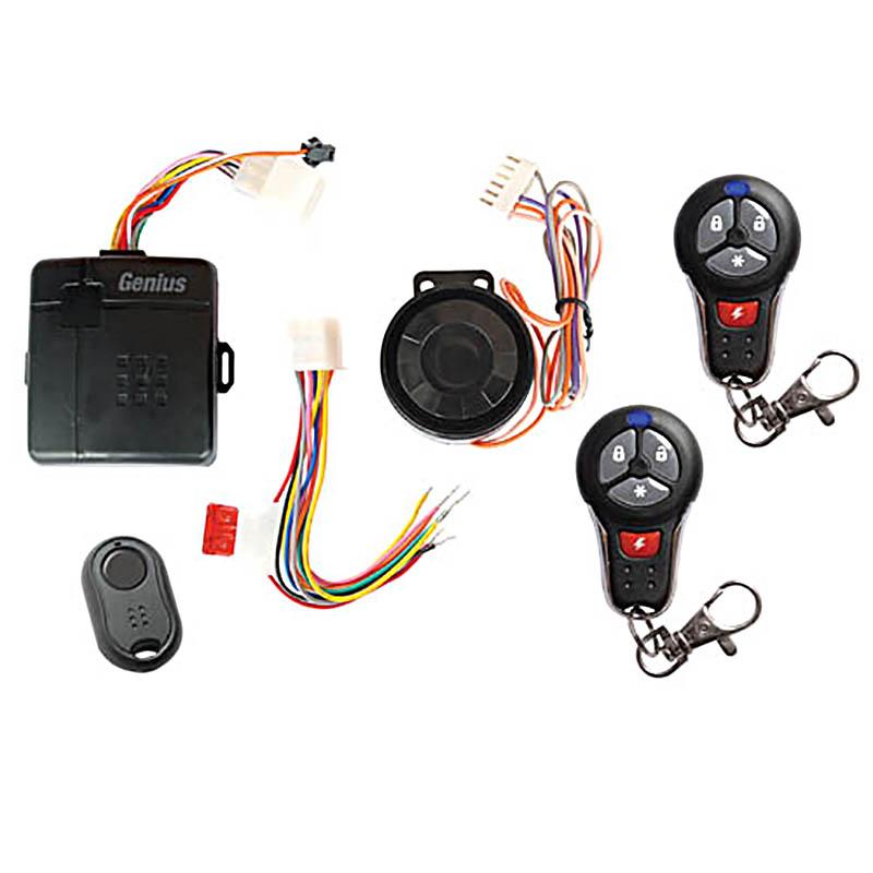 Moto alarma con 2 transmisores para Suzuki